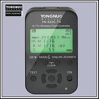 Синхронизатор передатчик трансмиттер c LCD YN-622C-TX для Canon, фото 1