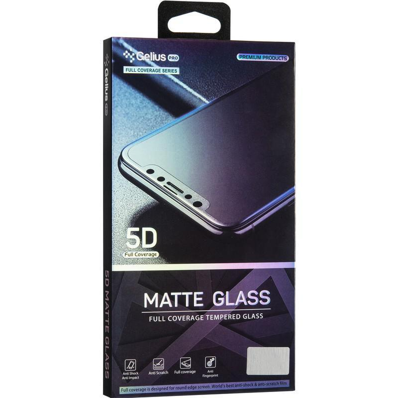 Защитное стекло Gelius Pro 5D Matte Glass for iPhone XR Black