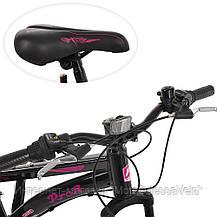 Велосипед детский PROF1 20 Д. G20VEGA A20.2 черно-розовый, фото 2