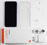 "Global Xiaomi Redmi Note 7 Blue (Синий) 4/64Gb +Чехол / 6.3"" (2340x1080) Snap 660 / 48Мп Samsung GM1/4000мАч, фото 3"