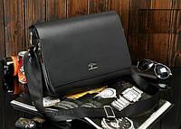 20e2daa30d8e Стильная мужская сумка KANGAROO (под формат А4 - черная). Сумка для  документов Cross