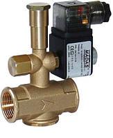 Электромагнитный клапан нормально открытый Madas резьба DN15 6 bar