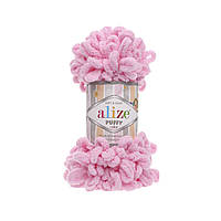 Alize Puffy (Ализе Пуффи) розовый №185 (пряжа, нитки для вязания руками), фото 1