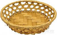 Корзинка плетеная 19x4,5 см Экорамбус