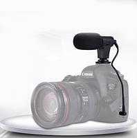 Профессиональный микрофон  для смартфона и фото и видео камер PULUZ PU3017