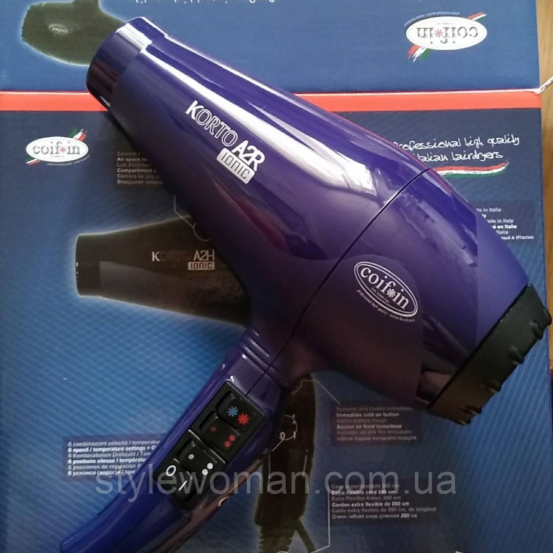 Фен для волос Coifin Korto Ionic A2R  2400W  33,5Е коифин ионизированный, фото 1