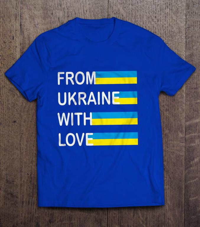 Патріотична Футболка Love Ukraine