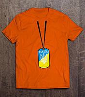 Футболка медальон Ukraine