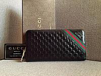 Мужской кошелек Gucci (138028) черный