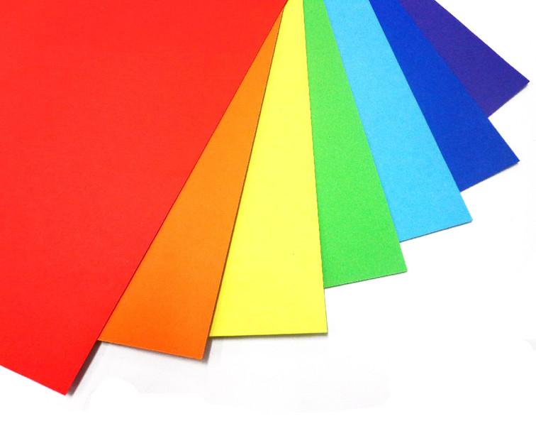 Цветная бумага (канцтовары)