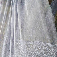 Тюль турецкая занавески портьеры шторы сублимация 1390, фото 1