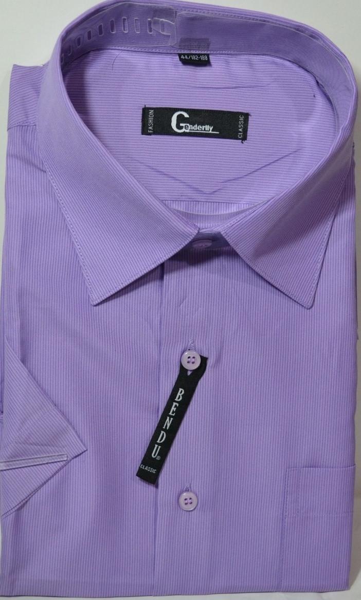 Мужская рубашка c коротким рукавом BENDU (размеры 41.42.43.46) R
