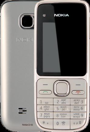 Мобильный телефон Nokia c2-01 Warm Silver Оригинал