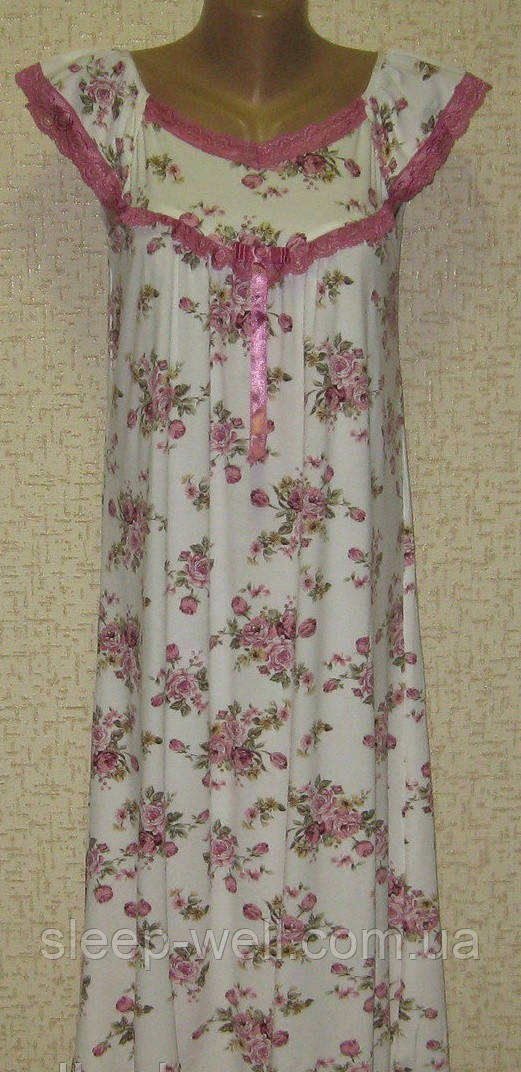 Ночная рубашка женская, бамбук
