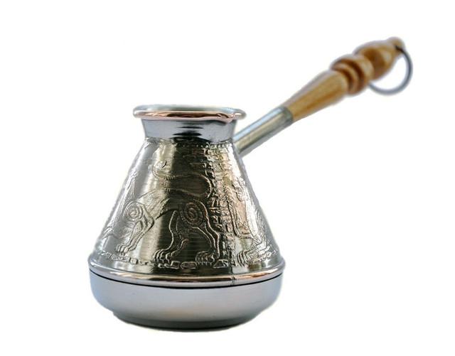 приготовления кофе в турке на газовой плите