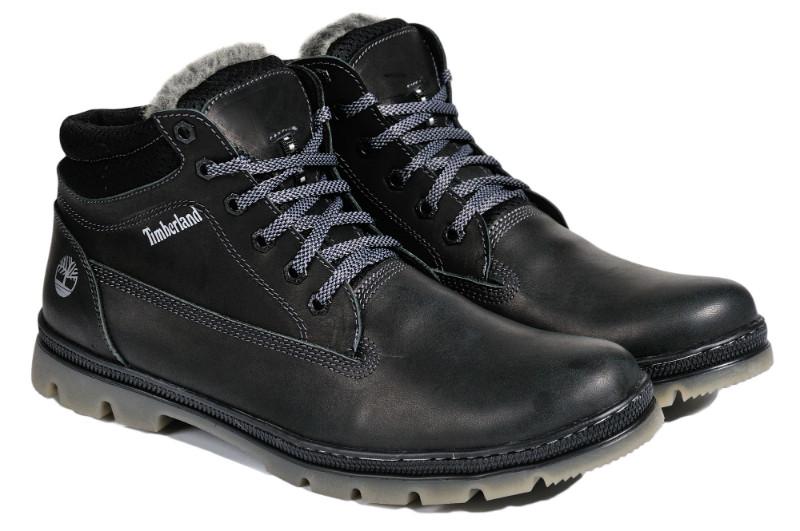Мужские зимние ботинки с нат. кожи большого размера Timberland Classic р. 46 47 48 49 50