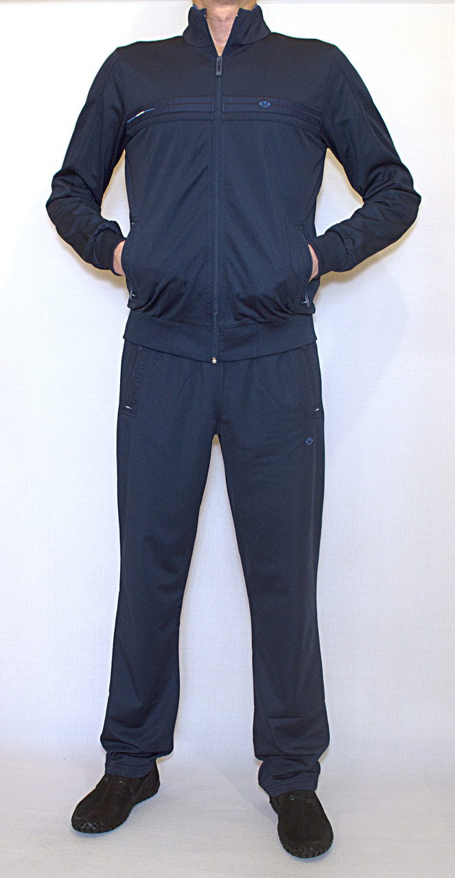 Мужской  спортивный костюм ESCETIC (большой размер) 6058