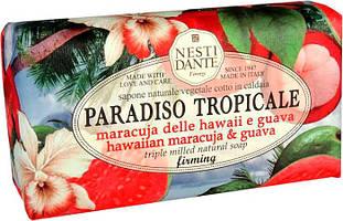 "Мыло ""Гавайская маракуйя и гуава"" Paradiso Tropicale Nesti Dante, 250 гр"