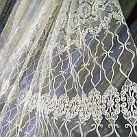 Тюль турецкая занавески портьеры шторы сублимация 1398, фото 1