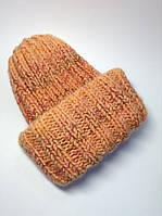 Шапка женская вязаная (70% шерсть)