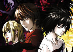 Картина GeekLand Death Note Тетрадь смерти герои аниме 60x40 DN 09.001