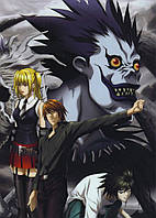 Картина GeekLand Death Note Тетрадь смерти постер 40x60 DN 09.002
