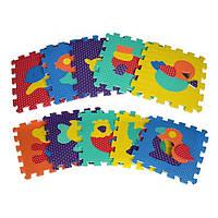 Коврик-мозаика 10 деталей Животные 2619, КОД: 129161