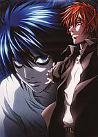 Картина GeekLand Death Note Тетрадь смерти персонажи манги 40x60 DN 09.003