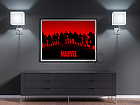 Плакат Avengers (Мстители) | Постер Мстители | Постер Месники