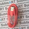 Usb кабель стандарт 100 см для iPhone, iPod, iPad 8 pin (красный)