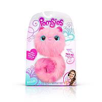 Интерактивная игрушка кошечка Пинки Помсис Pomsies Blossom Pink розовая