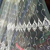 Тюль турецкая занавески портьеры шторы сублимация 1404, фото 1