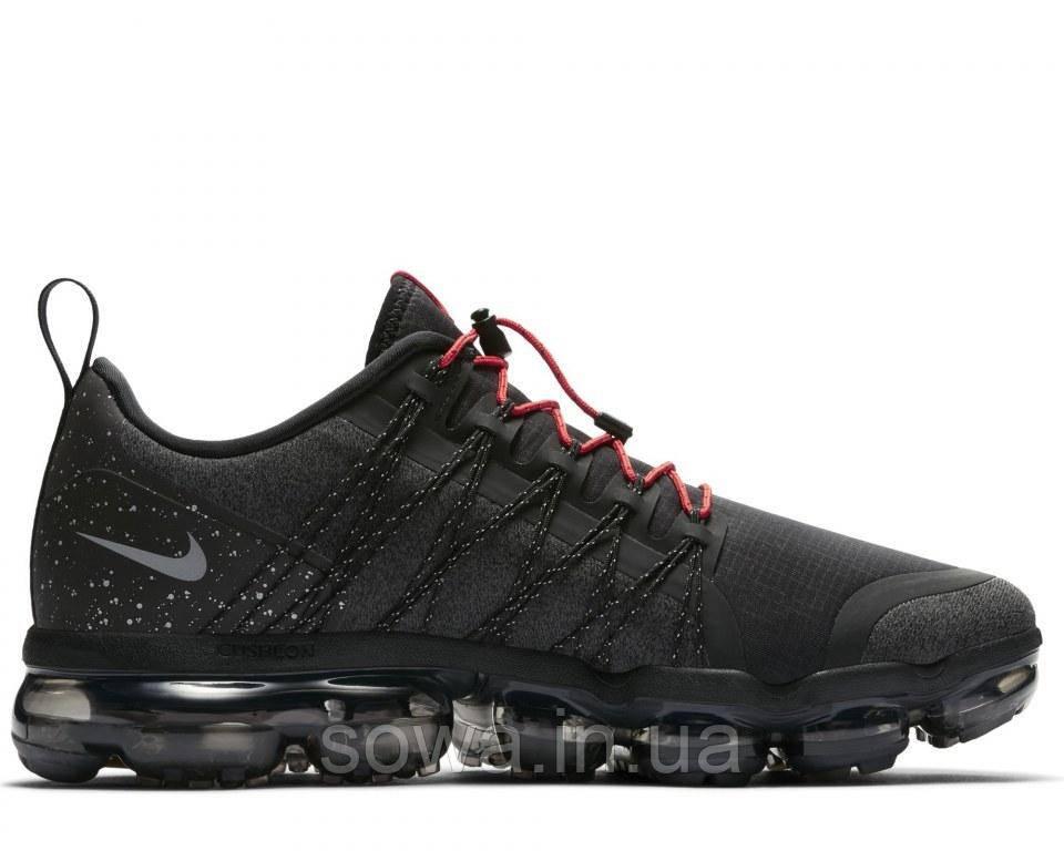 "✔️ Кроссовки Nike Air VaporMax Flyknit Utility ""Black.Reflect Silver/Anthracite"""