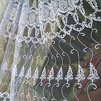 Тюль турецкая занавески портьеры шторы сублимация 1405, фото 1