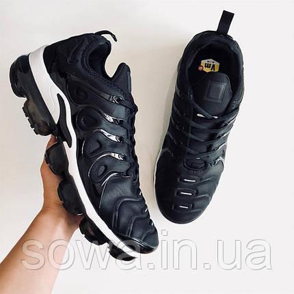 """✔️ Кроссовки Nike Air Vapormax Plus """"Black/White"""" , фото 2"""