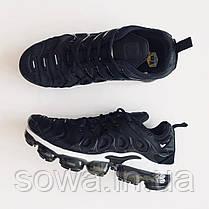 """✔️ Кроссовки Nike Air Vapormax Plus """"Black/White"""" , фото 3"""