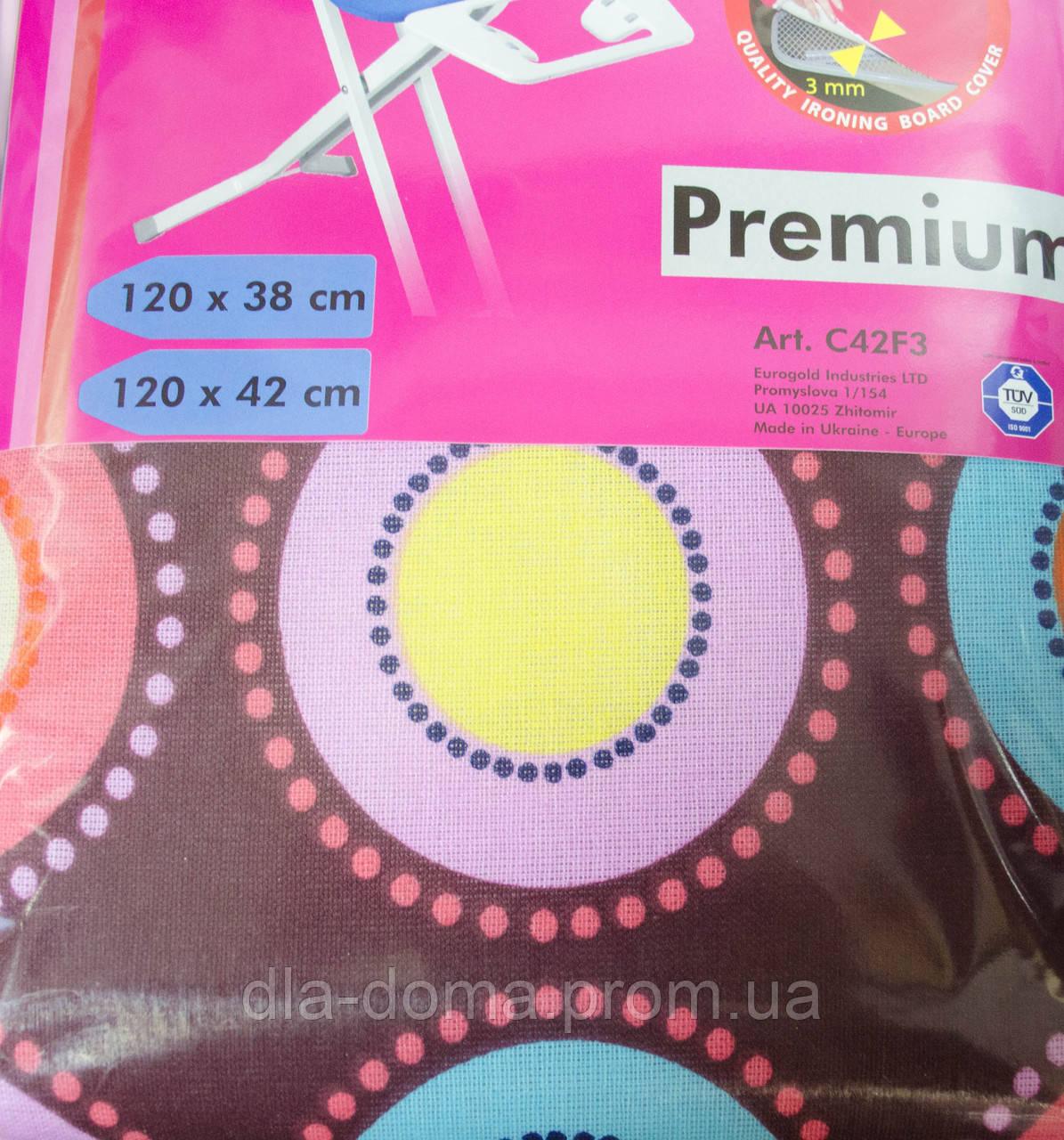 Чехол для гладильной доски : 120см Х 38 см