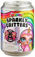 Питомец Poopsie surprise Sparkly Critters Пупси любимец со слайм-аксессуарами в банке