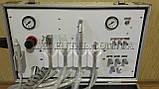 Портативна стоматологічна установка Р21 з компресором, вбудованим скалером і ресивером., фото 2