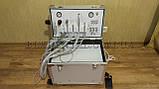Портативна стоматологічна установка Р21 з компресором, вбудованим скалером і ресивером., фото 3