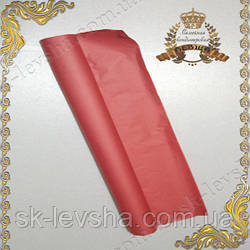 Папирусная бумага тишью , цвет красный 50*70 см.