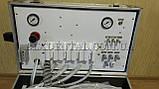 Портативна стоматологічна установка Р21 з компресором, вбудованим скалером і ресивером., фото 6