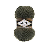 Alize Lanagold (Ализе Лана Голд) хаки №29 (Пряжа, нитки для вязания полушерсть), фото 1