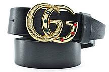 Ремень Gucci 110-120 см Черный (t0733)