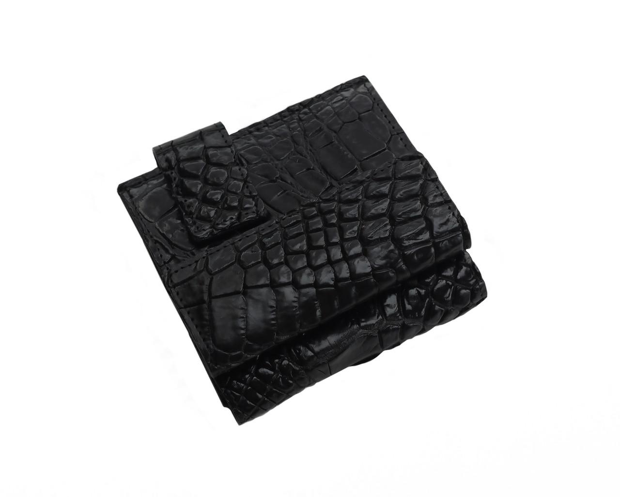 Кошелек из кожи крокодила Ekzotic Leather Черный (cw 91)