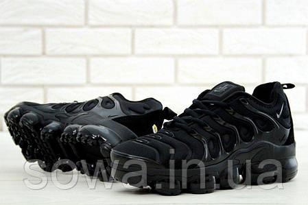 """✔️ Кроссовки Nike Air Vapormax Plus """"Black"""" , фото 2"""