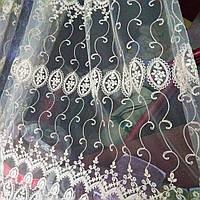 Тюль турецкая занавески портьеры шторы сублимация 1410, фото 1