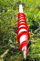 Винтовая свая многовитковая (геошуруп) диаметром 57 мм., длиною 1 метр
