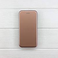 Чехол на iPhone 7 Книжка Aspor VIP глянцевый пластик для телефона Айфон 7 Золото