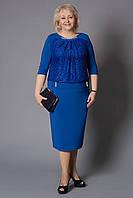 Оригинальное женское платье больших размеров. р 52-60